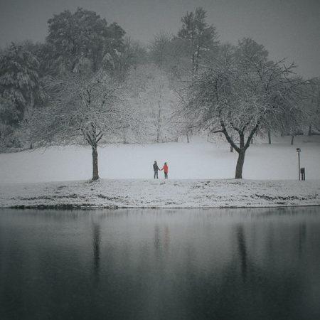 Servizio prematrimoniale sulla neve